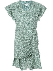 Veronica Beard Marla Dress Green