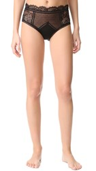 Thistle And Spire Amore High Waisted Briefs Black