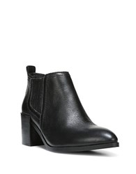 Fergie Magic Smooth Leather Bootie Black