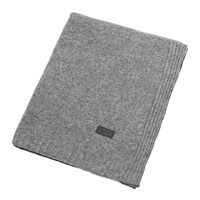 Gant Light Cable Knit Throw 130X180cm Grey