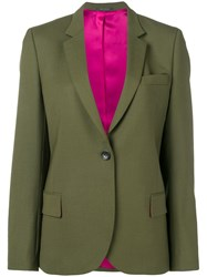 Paul Smith Ps Tailored Blazer Jacket Green