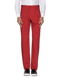 Ice Iceberg Trousers Casual Trousers Men Brick Red