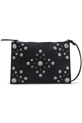 Versus By Versace Studded Leather Pouch Black
