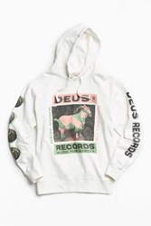 Deus Ex Machina Torch Of Mystics Hoodie Sweatshirt White