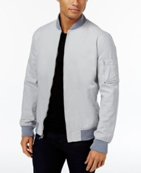 American Rag Men's Baumwolle Bomber Jacket Only At Macy's Washed White