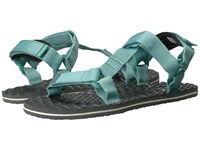 The North Face Base Camp Switchback Sandal Agate Green Graphite Grey Women's Sandals