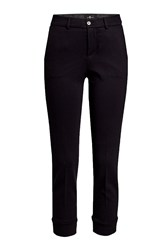 7 For All Mankind Tailored Chinos Black