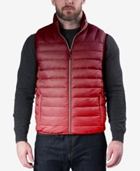 Hawke And Co. Outfitter Men's Weather Resistant Vest Ombre Chili