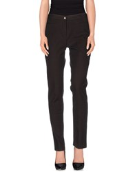Pamela Henson Trousers Casual Trousers Women Dark Brown