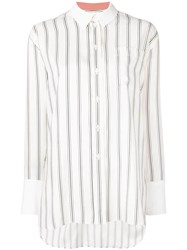Paul Smith Black Label Classic Striped Shirt White