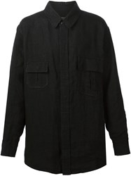 Aganovich Shirt Jacket Black