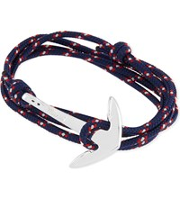 Miansai Anchor Rope Bracelet Navy Blue