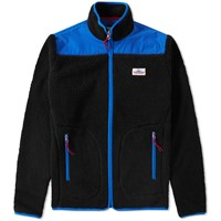 Penfield Mattawa Fleece Zip Jacket Black
