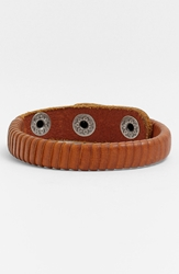 Will Leather Goods 'Peddler' Bracelet Tan