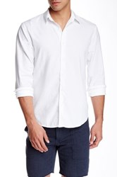 Save Khaki Oxford Simple Classic Fit Shirt White