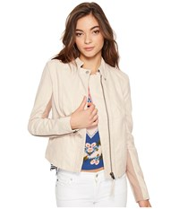 Free People Cool Clean Faux Suede Jacket Rose Women's Coat Pink