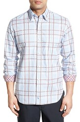 Men's Tailorbyrd 'Putunia' Regular Fit Plaid Sport Shirt