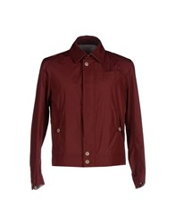 Zerosettanta Studio Coats And Jackets Jackets Men Maroon