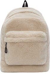 Marc By Marc Jacobs Beige Faux Shearling Ultimate Backpack