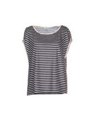 Pinko T Shirts Dark Blue