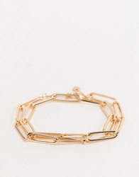 Aldo Wolfberry Chain Link Bracelet In Gold