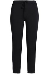 Bailey 44 Bike Ride Cropped Stretch Modal Track Pants Black