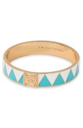 Women's Trina Turk Zigzag Enamel Bangle