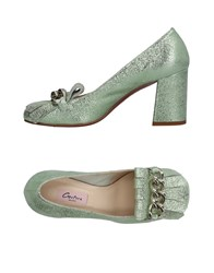 Couture Loafers Light Green