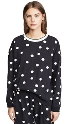 Chinti And Parker Painted Spot Sweatshirt Black