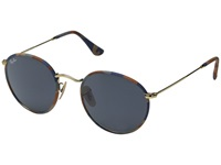 Ray Ban Rb3447jm 50Mm Camouflage Brown Blue Gray Fashion Sunglasses