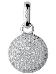 Links Of London Pave Topaz Disc Charm