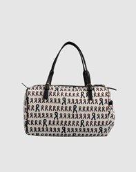 Roberta Di Camerino Bags Medium Fabric Bags Women White