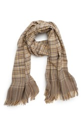 Saachi Plaid Scarf Yellow Multi