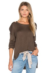 Feel The Piece Drew Sweater Olive