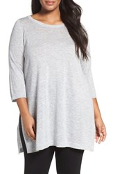 Eileen Fisher Plus Size Women's Fine Tencel Blend Tunic