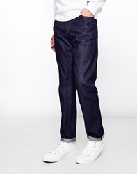 Wood Wood Wes Selvage Jeans Blue