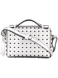 Tod's Studded Shoulder Bag Metallic