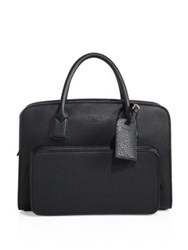 Giorgio Armani Private Bag Briefcase Black