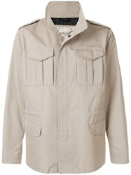 Palto Military Jacket Nude And Neutrals