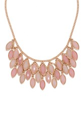 Forever 21 Faux Gem Statement Necklace