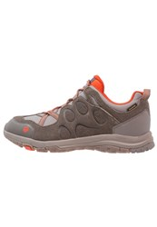 Jack Wolfskin Rocksand Texapore Hiking Shoes Coconut Brown