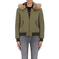 Army By Yves Salomon Fur Trimmed Bomber Jacket 387 Military 387 Military
