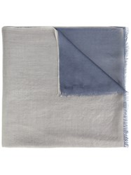 Denis Colomb 'Two Stone Shawl' Scarf Grey