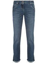 Brunello Cucinelli High Rise Straight Leg Jeans 60