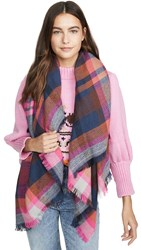 Hat Attack Jewel Plaid Scarf Brights