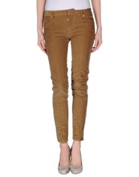 Dsquared2 Casual Pants Khaki