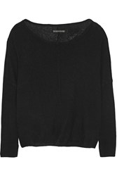 Alice Olivia Wool Blend Sweater Black