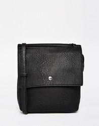 Liquorish Cross Body Bag Black