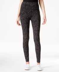 Styleandco. Style And Co. Sport Tummy Control Printed Active Leggings Only At Macy's