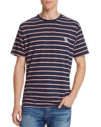 Barney Cools B.Schooled Stripey Tee Navy Retro